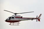 もぐ3さんが、福岡空港で撮影した西日本空輸 AS350B Ecureuilの航空フォト(写真)