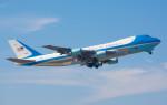 JA84ANさんが、横田基地で撮影したアメリカ空軍 VC-25A (747-2G4B)の航空フォト(写真)