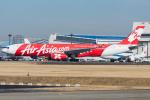 Tomo-Papaさんが、成田国際空港で撮影したインドネシア・エアアジア・エックス A330-343Xの航空フォト(写真)