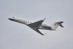 よしポンさんが、羽田空港で撮影した中国個人所有 G-V-SP Gulfstream G550の航空フォト(写真)