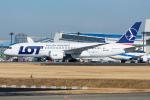 Tomo-Papaさんが、成田国際空港で撮影したLOTポーランド航空 787-8 Dreamlinerの航空フォト(写真)