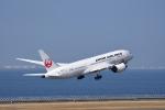 ひこ☆さんが、中部国際空港で撮影した日本航空 787-8 Dreamlinerの航空フォト(写真)