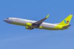 mameshibaさんが、成田国際空港で撮影したジンエアー 737-86Nの航空フォト(写真)