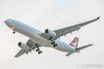 遠森一郎さんが、福岡空港で撮影したキャセイドラゴン A330-342の航空フォト(写真)