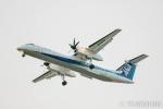 遠森一郎さんが、福岡空港で撮影したANAウイングス DHC-8-402Q Dash 8の航空フォト(写真)