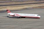 ドリさんが、福島空港で撮影した遠東航空 MD-82 (DC-9-82)の航空フォト(写真)