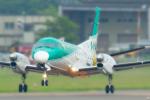 中村 昌寛さんが、札幌飛行場で撮影した北海道エアシステム 340B/Plusの航空フォト(写真)