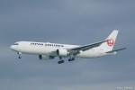 やまちゃんKさんが、那覇空港で撮影した日本航空 767-346/ERの航空フォト(写真)