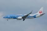 やまちゃんKさんが、那覇空港で撮影した日本トランスオーシャン航空 737-8Q3の航空フォト(写真)