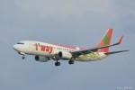やまちゃんKさんが、那覇空港で撮影したティーウェイ航空 737-8Q8の航空フォト(写真)