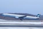 中村 昌寛さんが、新千歳空港で撮影したキャセイパシフィック航空 777-367の航空フォト(写真)