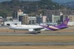 pringlesさんが、福岡空港で撮影したタイ国際航空 A330-343Xの航空フォト(写真)