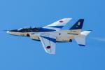 みぐさんが、三沢飛行場で撮影した航空自衛隊 T-4の航空フォト(写真)
