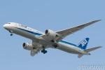 遠森一郎さんが、福岡空港で撮影した全日空 787-9の航空フォト(写真)