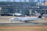 さおまるさんが、羽田空港で撮影したルフトハンザドイツ航空 A350-941XWBの航空フォト(写真)