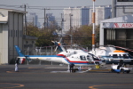 TRdenさんが、東京ヘリポートで撮影した東邦航空 AS355F2 Ecureuil 2の航空フォト(写真)
