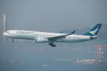ceskykrumlovさんが、香港国際空港で撮影したキャセイパシフィック航空 A330-343Xの航空フォト(写真)