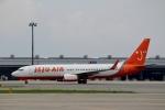 ハピネスさんが、関西国際空港で撮影したチェジュ航空 737-8HXの航空フォト(写真)