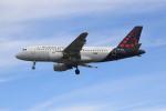 Koba UNITED®さんが、ロンドン・ヒースロー空港で撮影したブリュッセル航空 A319-112の航空フォト(写真)