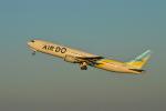 hazukiさんが、羽田空港で撮影したAIR DO 767-33A/ERの航空フォト(写真)