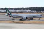 プルシアンブルーさんが、成田国際空港で撮影したアリタリア航空 777-2Q8/ERの航空フォト(写真)