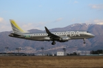 やまけんさんが、松本空港で撮影したフジドリームエアラインズ ERJ-170-200 (ERJ-175STD)の航空フォト(写真)