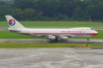 PASSENGERさんが、シンガポール・チャンギ国際空港で撮影した中国貨運航空 747-412F/SCDの航空フォト(写真)