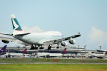 S-Hawkさんが、成田国際空港で撮影したキャセイパシフィック航空 747-412の航空フォト(飛行機 写真・画像)