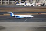 ハム太郎。さんが、羽田空港で撮影したピードモント・エアラインズ G500/G550 (G-V)の航空フォト(写真)