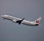 ザキヤマさんが、福岡空港で撮影した日本トランスオーシャン航空 737-8Q3の航空フォト(写真)