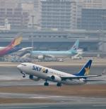 ザキヤマさんが、福岡空港で撮影したスカイマーク 737-81Dの航空フォト(写真)