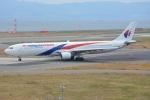 SKY☆101さんが、関西国際空港で撮影したマレーシア航空 A330-323Xの航空フォト(写真)
