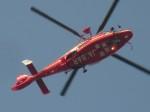 commet7575さんが、福岡空港で撮影したエアバス・ヘリコプターズ・ジャパン AS365N3 Dauphin 2の航空フォト(写真)