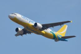 saoya_saodakeさんが、成田国際空港で撮影したセブパシフィック航空 A320-214の航空フォト(飛行機 写真・画像)