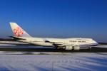 まったり屋さんが、新千歳空港で撮影したチャイナエアライン 747-409の航空フォト(写真)