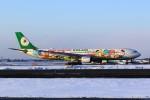 まったり屋さんが、新千歳空港で撮影したエバー航空 A330-302Xの航空フォト(写真)