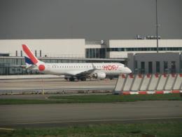 C.B.Airwaysさんが、パリ シャルル・ド・ゴール国際空港で撮影したエールフランス・オップ! ERJ-190-100 LR (ERJ-190LR)の航空フォト(飛行機 写真・画像)