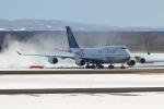 E-75さんが、新千歳空港で撮影したチャイナエアライン 747-409の航空フォト(写真)