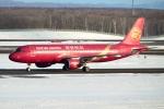 E-75さんが、新千歳空港で撮影した吉祥航空 A320-214の航空フォト(写真)