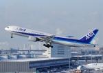 じーく。さんが、羽田空港で撮影した全日空 777-281の航空フォト(飛行機 写真・画像)