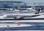 じーく。さんが、羽田空港で撮影したシンガポール航空 777-312/ERの航空フォト(飛行機 写真・画像)