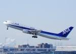 じーく。さんが、羽田空港で撮影した全日空 767-381の航空フォト(写真)