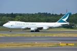 SKY☆101さんが、成田国際空港で撮影したキャセイパシフィック航空 747-467F/ER/SCDの航空フォト(写真)
