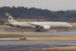 PASSENGERさんが、成田国際空港で撮影したエティハド航空 787-9の航空フォト(写真)