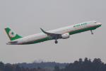PASSENGERさんが、成田国際空港で撮影したエバー航空 A321-211の航空フォト(写真)