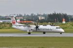 なないろさんが、宮古空港で撮影した琉球エアーコミューター DHC-8-402Q Dash 8 Combiの航空フォト(写真)