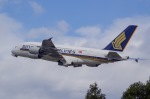 SOMAさんが、成田国際空港で撮影したシンガポール航空 A380-841の航空フォト(写真)