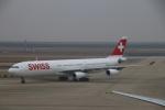 zero1さんが、上海浦東国際空港で撮影したスイスインターナショナルエアラインズ A340-313Xの航空フォト(写真)