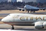 Hide.Oさんが、成田国際空港で撮影したエティハド航空 747-87UF/SCDの航空フォト(飛行機 写真・画像)