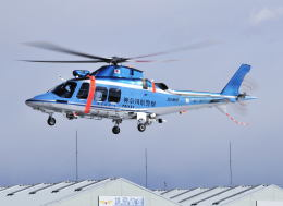 パンサーRP21さんが、群馬ヘリポートで撮影した神奈川県警察 AW109SPの航空フォト(飛行機 写真・画像)